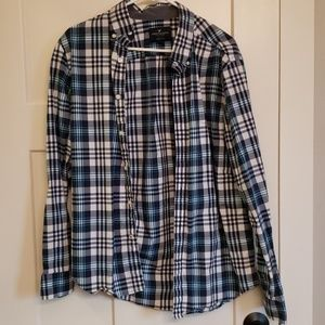 Mens Casual Button-Up